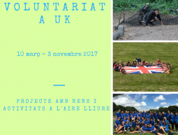 Oportunitat de voluntariat a Regne Unit