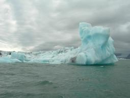 Ice lagoon at jokursaloon