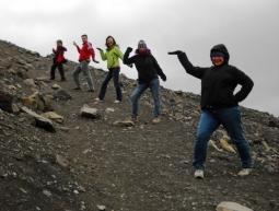 Pujant a un volcà islandès