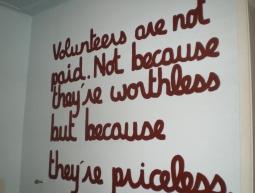 Volunteers sentence
