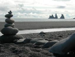 Platja de vik al sud d'islandia