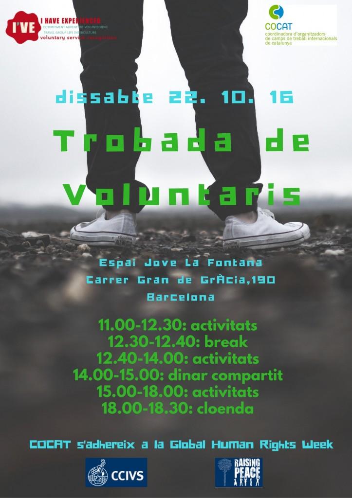 Trobada de voluntaris 2.0 setembre