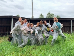 Fence busters!