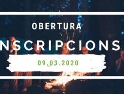 Apertura de INSCRIPCIONES de Campos de Trabajo de Verano 2020