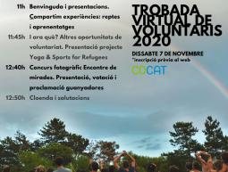 Video-Trobada voluntaris/àries i Encontre de Mirades 2020