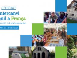 Buscamos a 6 participantes para el intercambio juvenil CITIZ'ART del 3 al 24 de julio en Francia